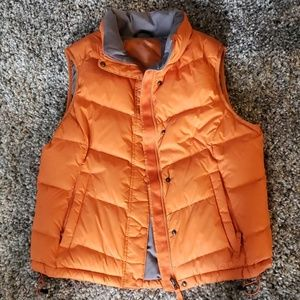 LLBean goose down puffy vest